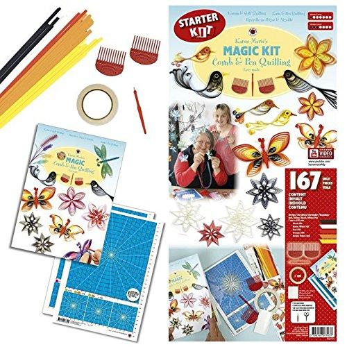 Starter Kit Karen Marie Klip Magic Comb /& Pen Quilling Kit