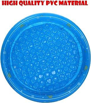 UMFun Piscina Inflable para niños, Piscina de Pelotas, Juego de Agua Familiar para niños, diversión en Verano, 31 Pulgadas, Color Azul: Amazon.es: Ropa y accesorios
