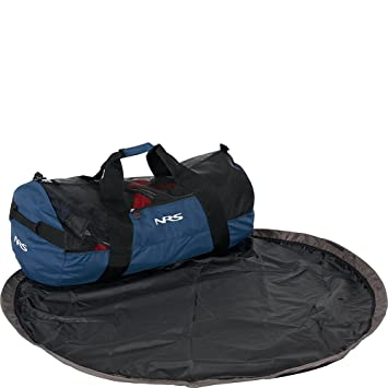 a9a8372b03 NRS Quick-Change Mesh Duffel Bag Blue Bag with Pad  Amazon.ca  Sports    Outdoors