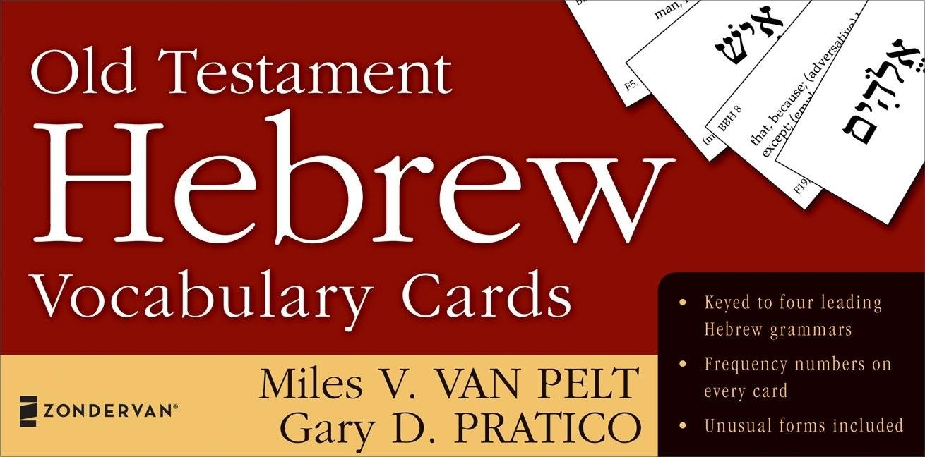 Old Testament Hebrew Vocabulary Cards (The Zondervan