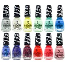 China Glaze Colour Is Magic MY LITTLE PONY Collection 12pcs