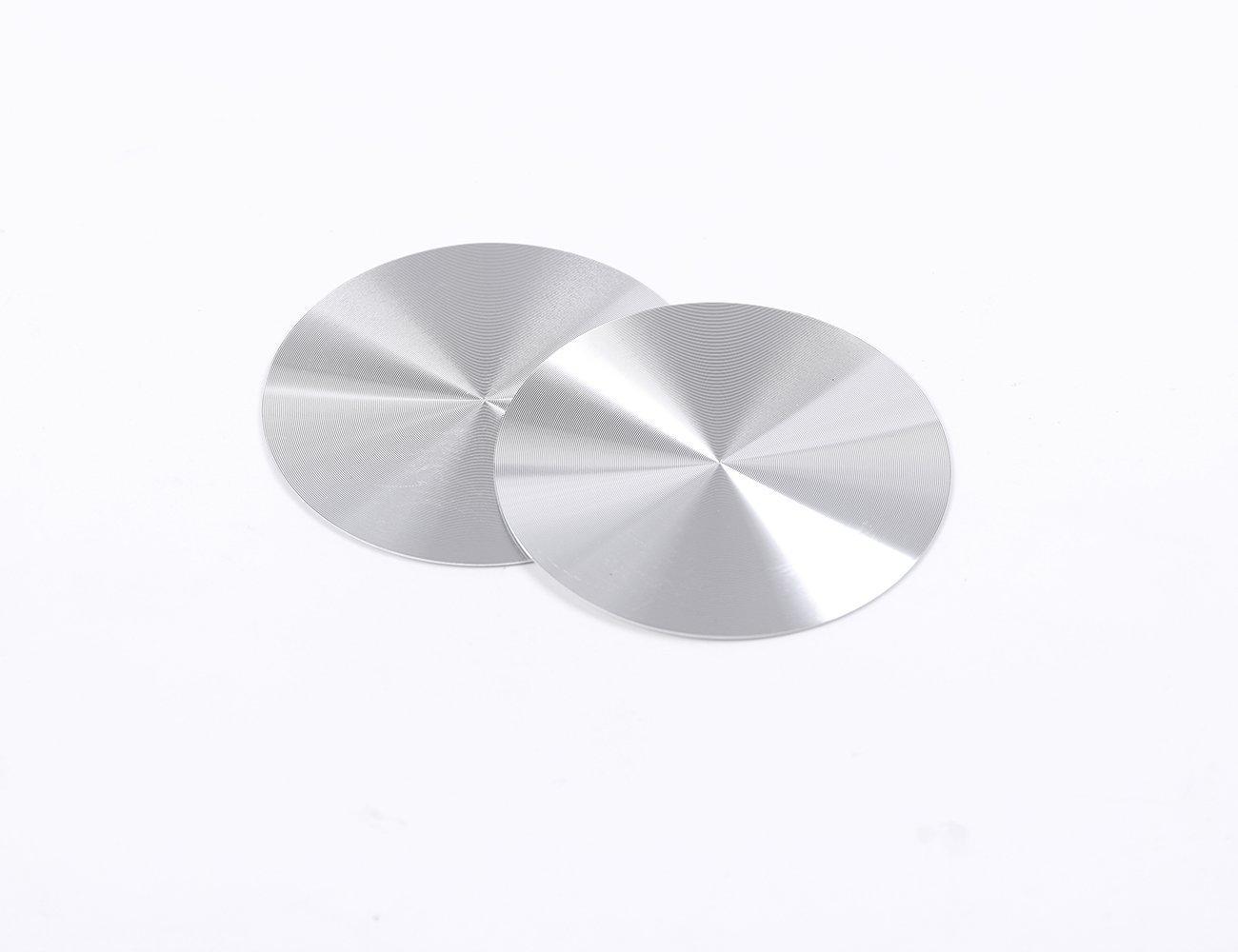 Carbone /à lint/érieur en acier inoxydable D/écoration Porte-gobelet Tapis General Accessoires pour XE XF XJL qui F-pace F rythme X760/X 260/X761
