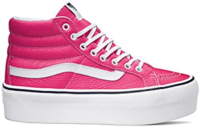 Chaussures vans rose Fluo
