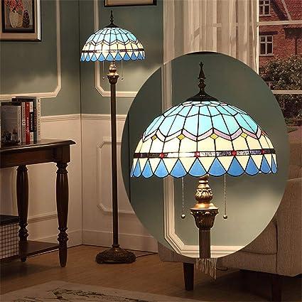 Good Thing Lámpara de pie de Tiffany de 16 Pulgadas Lámpara ...