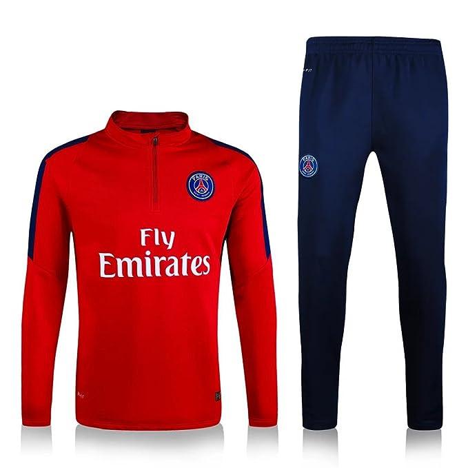 Conjunto de camisetas de entrenamiento de fútbol con diseño de Paris Saint