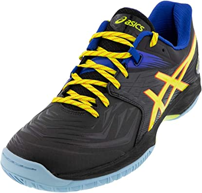 ASICS Gel Blast FF Mens Indoor Court Shoe (Black/Sour Yuzu)