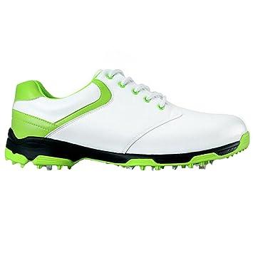 Zapatos de golf para hombre con tacos de PGM. Diseño patentado con suela