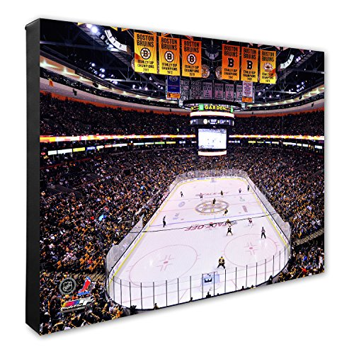 Photo File NHL Boston Bruins TD Garden Hockey Arena Canvas Artwork, 16