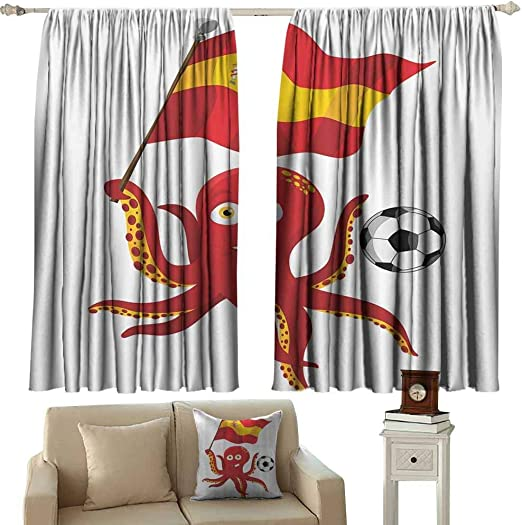 Dabuniu - Cortinas de balcón, diseño de Pulpo, Bandera de España ...