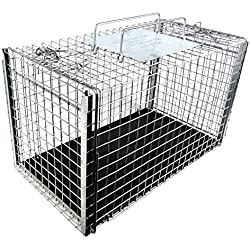 Tomahawk Live Trap Two Door Transfer Cage