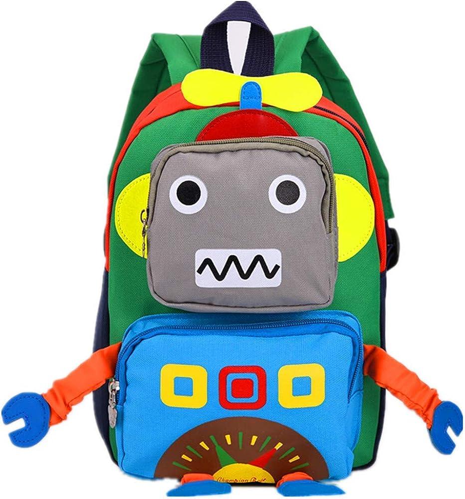 Toddler Backpack Dinosaur Cartoon School Bag Children Hiking Camping Rucksack