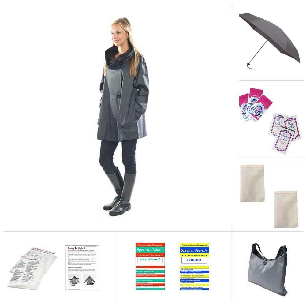 Mycra Pac Mini Donatella Raincoat by Mycra Pac