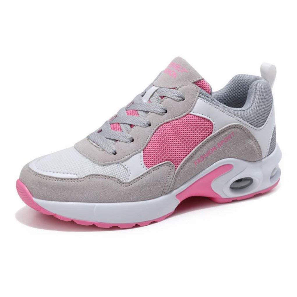 Oudan Laufende Schuhe der Frauen zufälliger Sport-Weg rüttelnde Turnschuhe Sportschuhe im Freien Ineinander Greifen Athletische Turnschuhe für Turnhallen-Sport-Eignung (Farbe   B Größe   40)