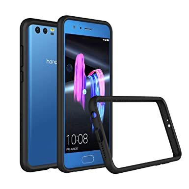 new arrival 05f88 93105 RhinoShield Bumper Case FOR HONOR 9 [Crashguard] | Shock Absorbent Slim  Design Protective Cover - Compatible w/Wireless Charging [3.5M/11ft Drop ...