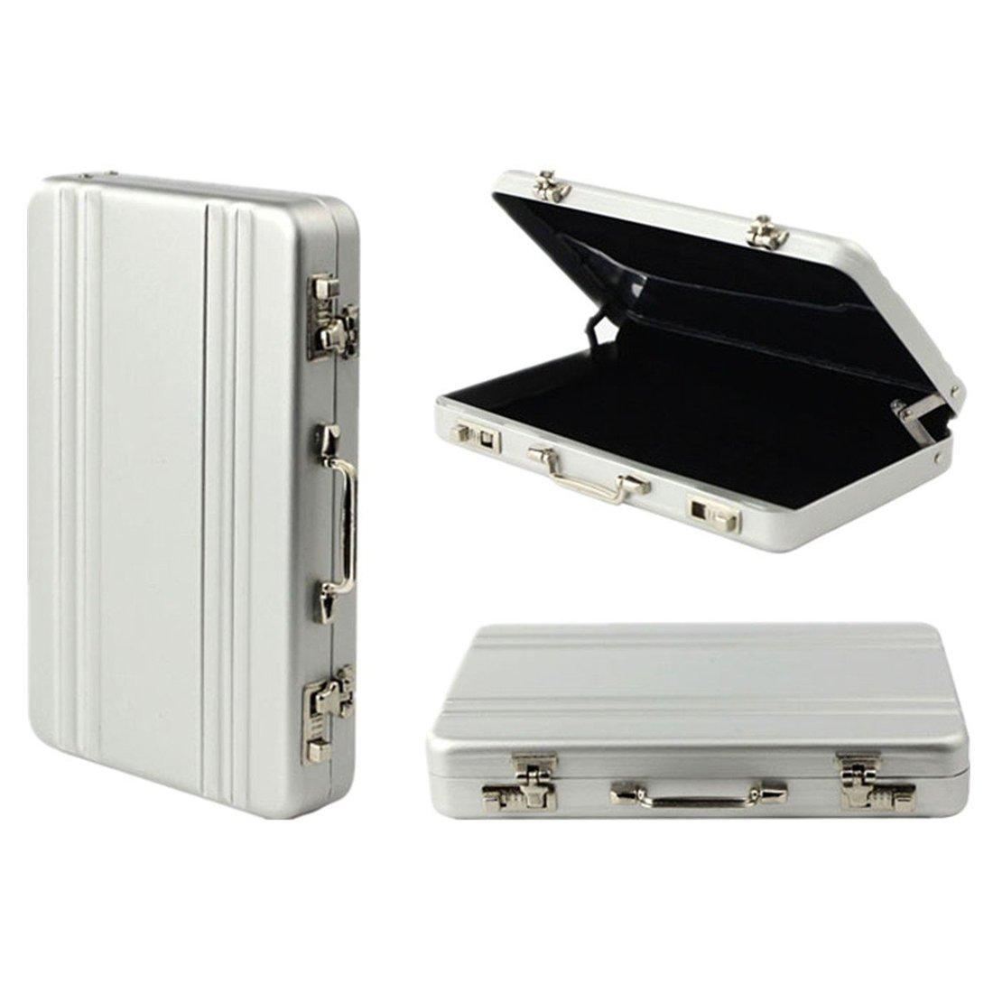 Card Case - SODIAL(R)mini Koffer Formel Card Case(schwarz)