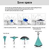 Sea Animals Reverse Folding Inverted Umbrella Two