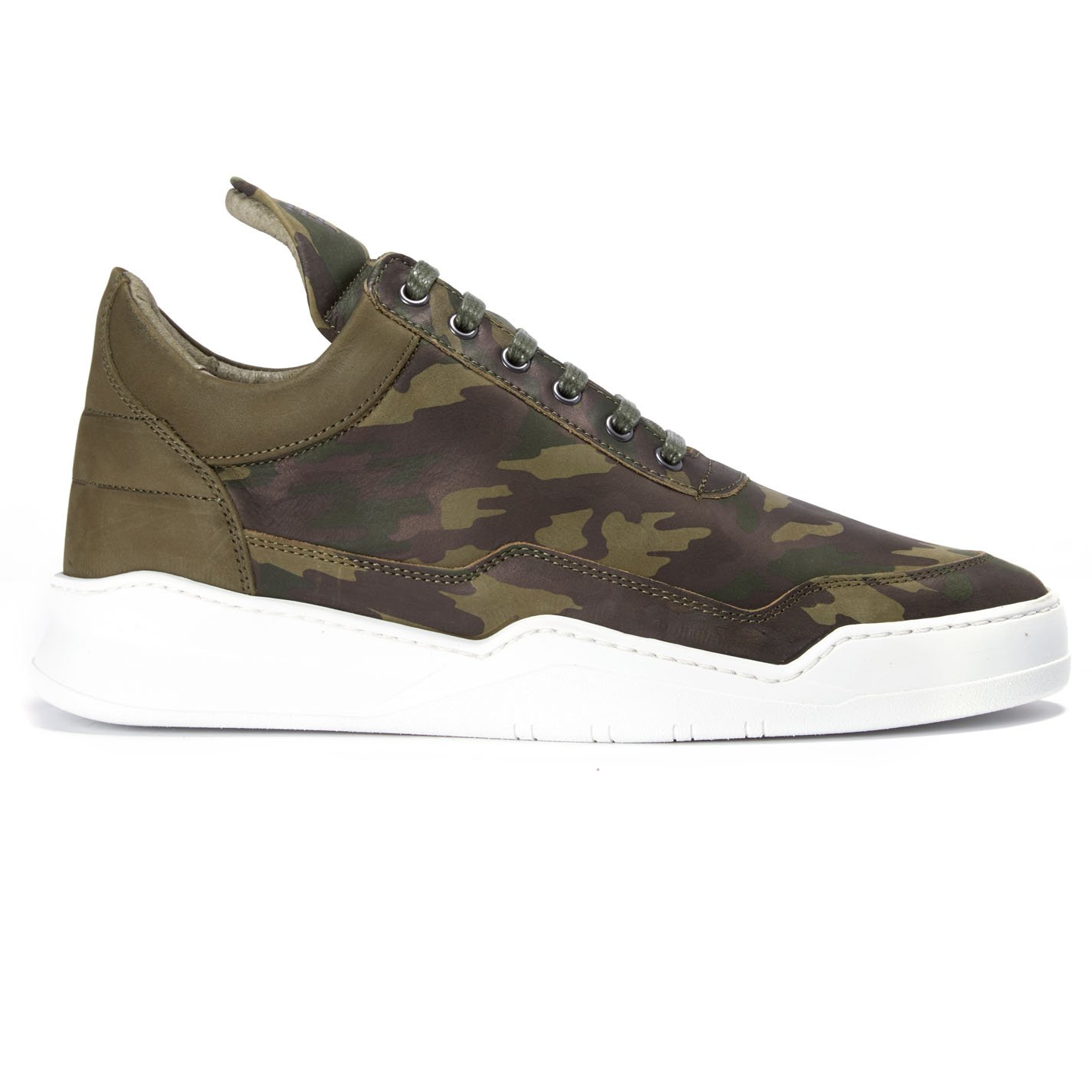3df59ce230b06 Filling Pieces Ghost Camo Low Top Green 40: Amazon.co.uk: Clothing