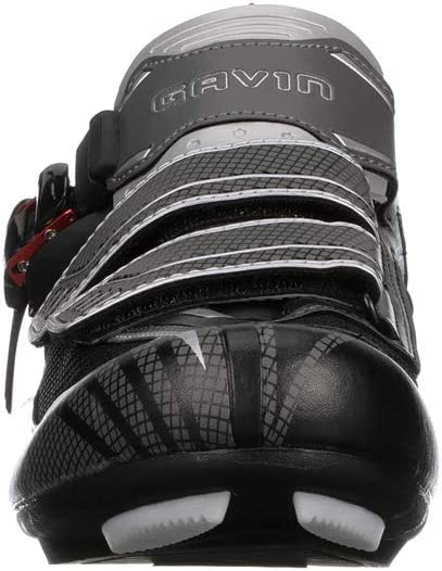 2 and 3 Bolt Cleat Compatible Gavin Elite Road Cycling Shoe