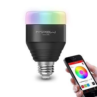 MIPOW E26 Bluetooth Smart LED Light Bulbs APP Group Controlled ...