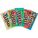 PURPLEGIANTS© Mars M&M Mix (1 x Peanut Butter 46g, 1 x Almond 80g, 1 x Crispy 39g, 1 x Pretzel 33g, 1 x Mint Dark Chocolate)
