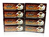 8x Gano Excel Ganocafe Black Coffee Classic No Sugar Healthy Instant Coffee + FREE Zrii Premix Rise Coffee + FREE Expedited Shipping