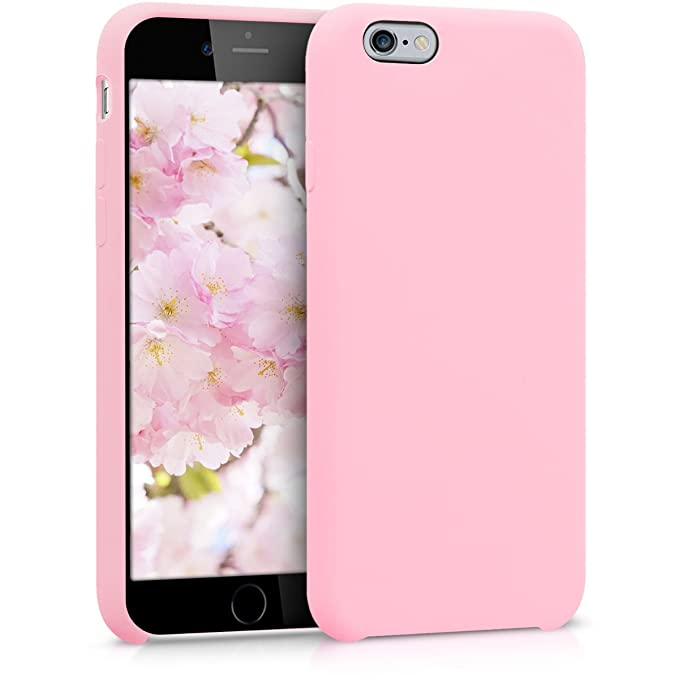 kwmobile Apple iPhone 6 / 6S Hülle - Handyhülle für Apple iPhone 6 / 6S - Handy Case in Hellrosa