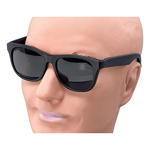 Bristol Novelty BA949 Gangster Glasses, One Size