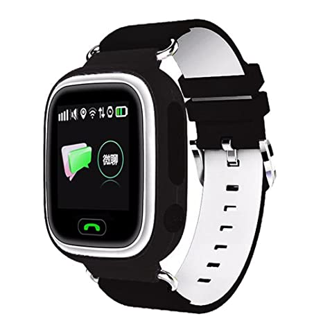 Amazon.com: Q90 Kids SmartWatch GPS/GSM/GPRS Posicionamiento ...