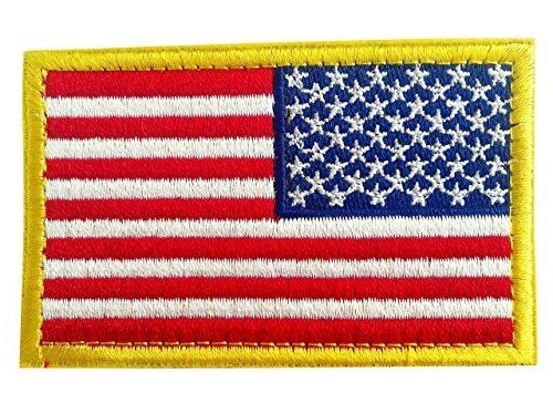 Backwoods Barnaby American Flag  Morale Tactical Patch with