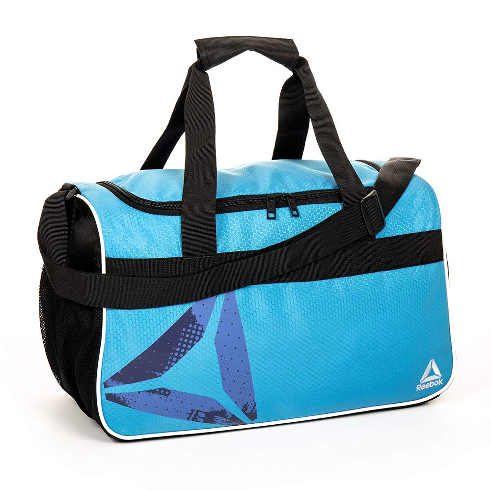 Reebok Warrior II Small Gym Bag for Men and Women, Compact Sports Duffle Bag