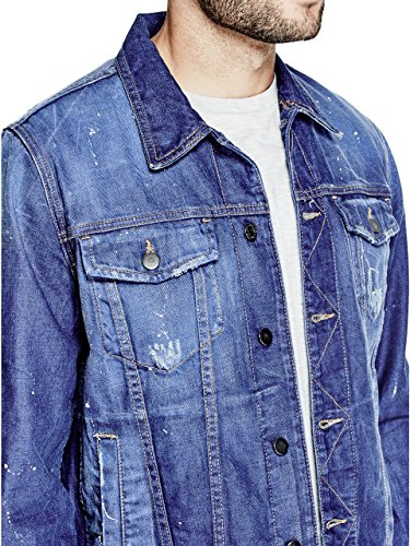 GUESS Men's Rex Denim Jacket - Sale Men Guess