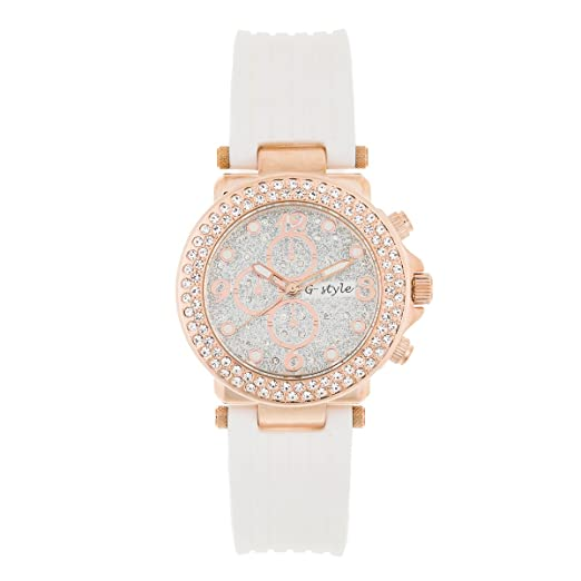 Women Watch on Sale: Elegant and Fashion Rubber Strap (GSB06)