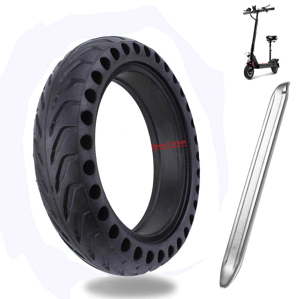 Kutrick Electric Scooter Solid Tire Replacement for XiaoMi Mijia M365, Gotrax GXL v2,Swagtro Scooter - Fit All 8.5 inch Electric Scooter Wheels Replacement- Solid Electric Scooter Wheels/Explosion- by Kutrick