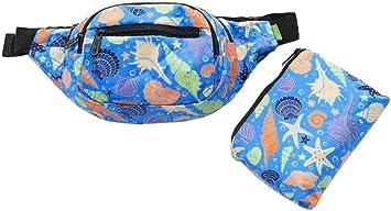 Orange Waterproof Elastic Running Waist Bag Anti-Theft Sports Fanny Pack