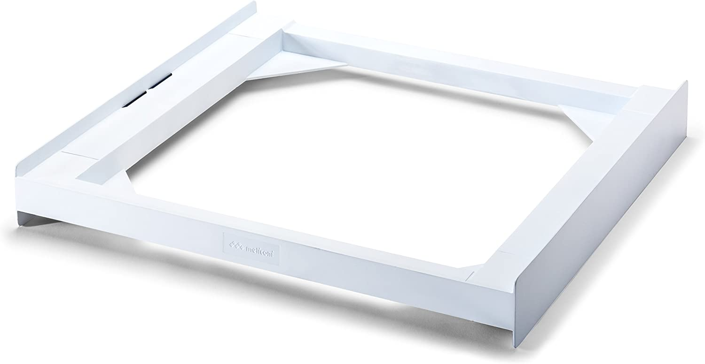 Meliconi Base Torre Basic Stacking Kit - Piezas y Accesorios de secadoras (Stacking Kit, White, Box, 250 kg, 600 mm, 550 mm)
