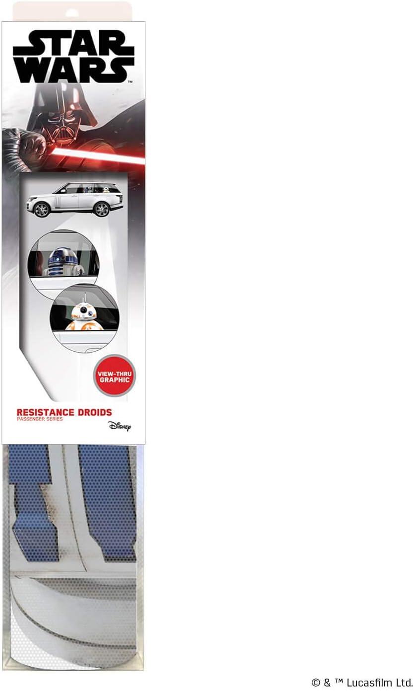 FanWraps Star Wars Resistance Droids Passenger Series Window Decal Multi