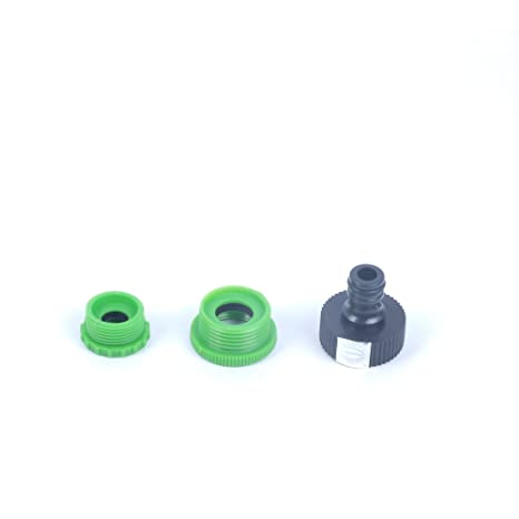 Pepper Agro Garden Watering tap Hose Pipe Multi Adaptor with 1/2,3/4,1 inch Female Thread with Quick Connector Nozzle Watering Hoses   Accessories