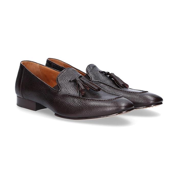 Roberto Botticelli - Mocasines de Otra Piel para Hombre Marrón marrón, Color Marrón, Talla 44: Amazon.es: Zapatos y complementos