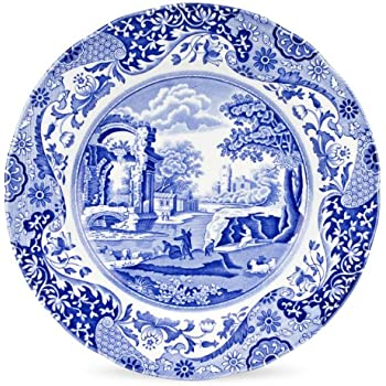 Spode Blue Italian Dinner Plate Set of 4  sc 1 st  Amazon.com & Amazon.com | Spode Blue Italian Dinner Plate Set of 4: Accent Plates
