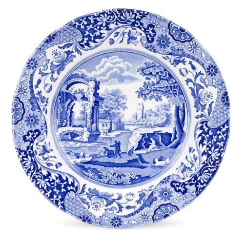 Spode Blue Italian Dinner Plate, Set of 4