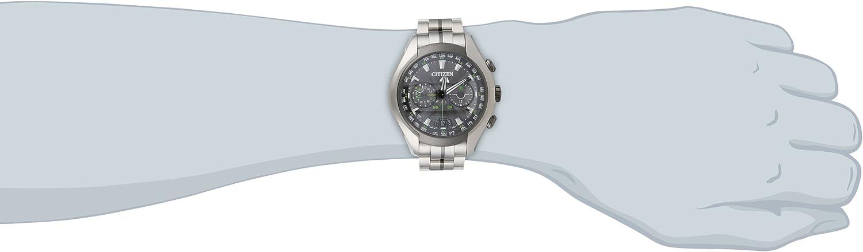 Citizen Men s CC1055-53E Satellite Wave Air Titanium Eco-Drive Watch