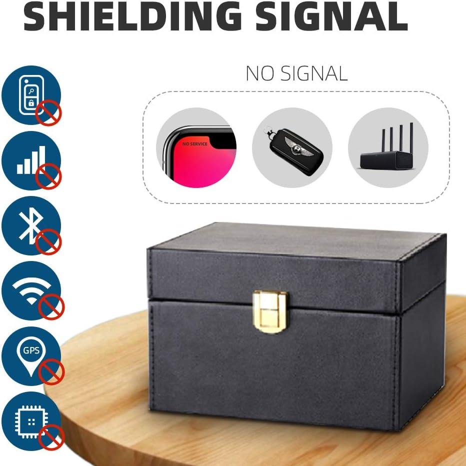 Universal Car Key Signal Blocker Box Keyless Entry RFID Anti-theft Lock Devices