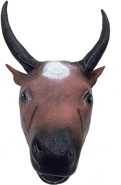 Maschera Toro Marrone