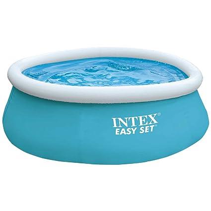 Intex Easy Set Pool - Aufstellpool - Für Kinder, 183cm x 183cm x 51cm