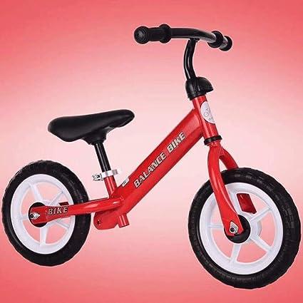 JYY Balance Bike For Kids Bastidor De Acero con Alto Contenido De Carbono Sin Pedales Entrenamiento