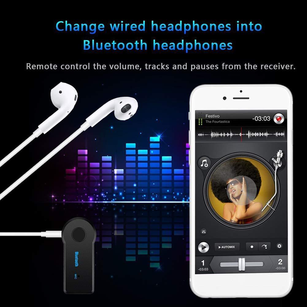 Sonoaud AUX Adattatore ricevitore audio trasmettitore wireless Bluetooth Speaker per auto di casa