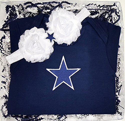 Dallas Game Day Gal Baby Clothing Gift Set (6 Months)
