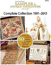 Sampler & Antique Needlework Quarterly Collection 1991-2015