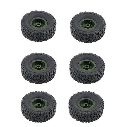 neumáticos apto para coche juguete biback Q60 Q61, piezas de recambio para vehículos Todoterreno de