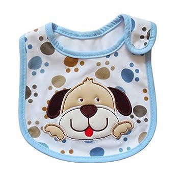 Hosaire Babero Impermeable del bebé Recién Nacido Bufandas de Algodón Diseño de Animales para Bebés: Amazon.es: Hogar